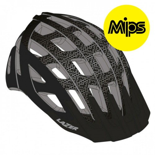 Cykelhjälm MTB Lazer Gustav Svart MIPS