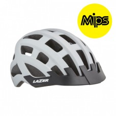 Cykelhjälm Lazer Petit DLX 50-57cm Matt Vit MIPS