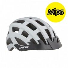 Cykelhjälm Lazer Comp DLX 54-61cm Matt Vit MIPS