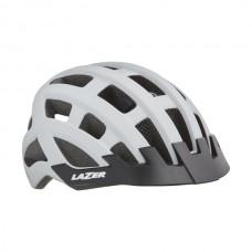 Cykelhjälm Lazer Comp DLX 54-61cm Matt Vit