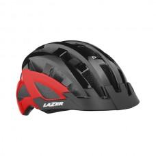 Cykelhjälm Lazer Comp DLX 54-61cm Svart-Röd