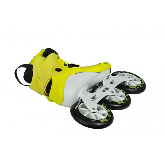 Inlines Powerslide Swell Firefly TRINITY Yellow - 3x125mm
