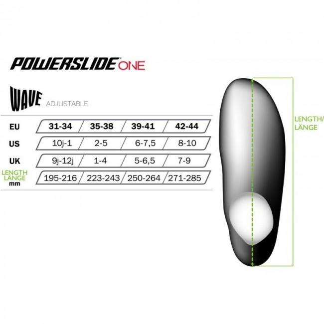 Inlines Powerslide Wave Men 3x100