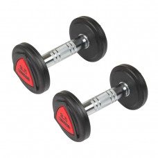 Hantlar Hammer Kompakthantlar PU 2x2,5kg (par)