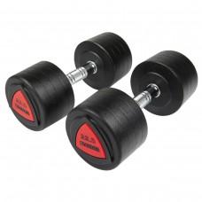 Hantlar Hammer Kompakthantlar PU 2x22,5kg (par)