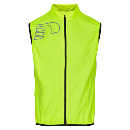 Löparväst Newline Core Vest - Neon Yellow