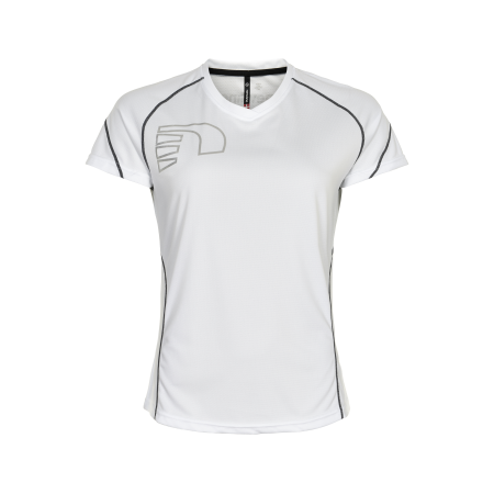 T-Shirt Newline Core Coolskin Tee - White - Dam