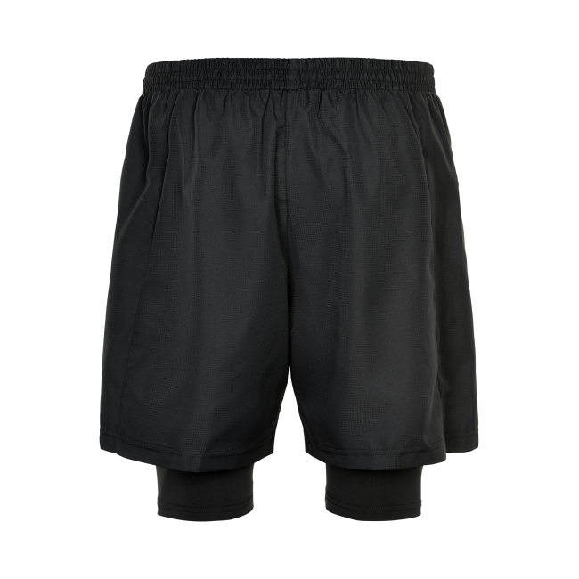 Träningsshorts Newline Black 2-Lay Shorts - Black
