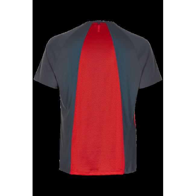 T-Shirt Newline Black Feather Tee - Titanium
