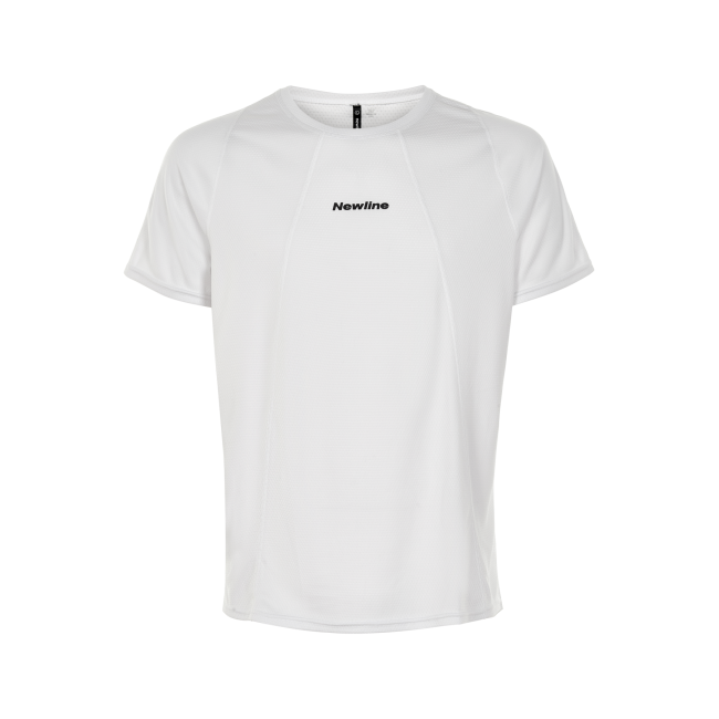 T-shirt Newline Black Tech Tee - Nimbus Cloud