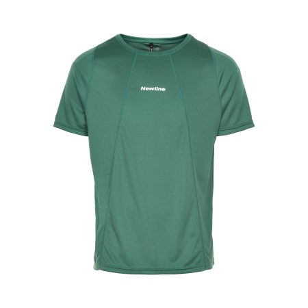 T-shirt Newline Black Tech Tee - Mallard Green