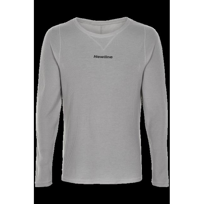 Löpartröja Newline Black shirt - Wet Grey