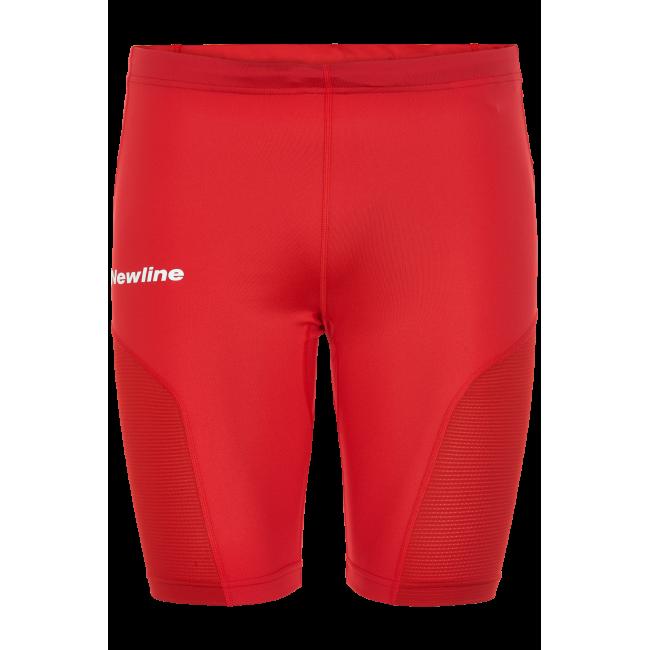 Träningsshorts Newline Black Tech Sprinters - Red