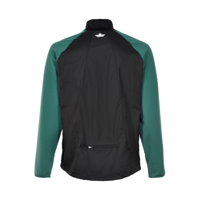 Löparjacka Newline Black Windbreaker Shirt - Black