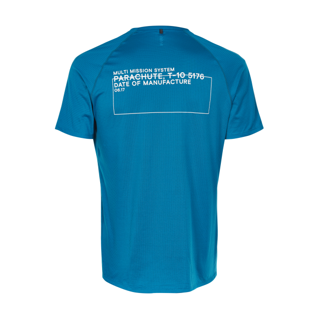 T-shirt Newline Black Tee - Blue