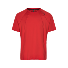 T-shirt Newline Black Tee - Red