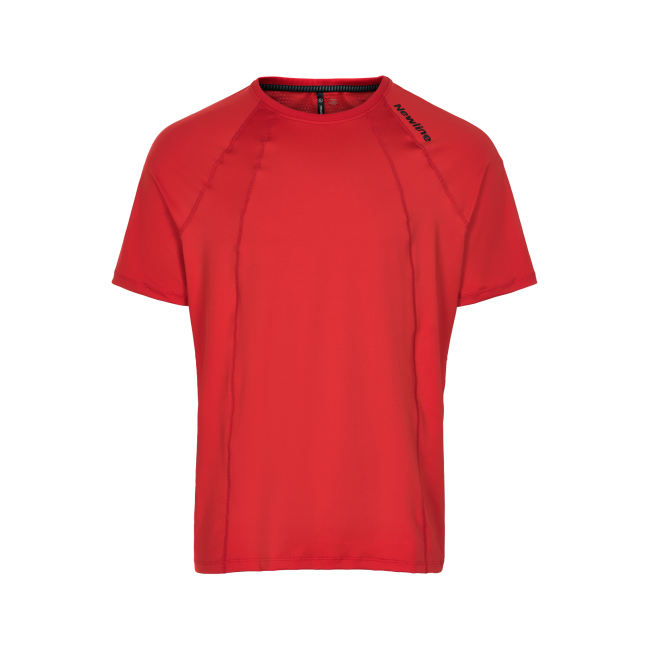 T-shirt Newline Black Tee - Red