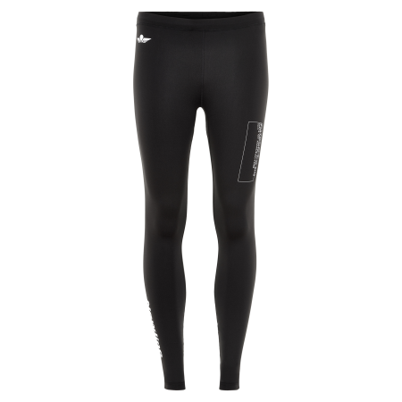 Löpartights Newline Black Tights - Black - Dam
