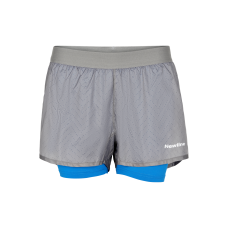 Träningsshorts Newline Black 2-Lay Shorts - Wet Grey - Dam
