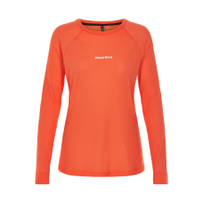 Löpartröja Newline Black shirt - Soft Orange - Dam