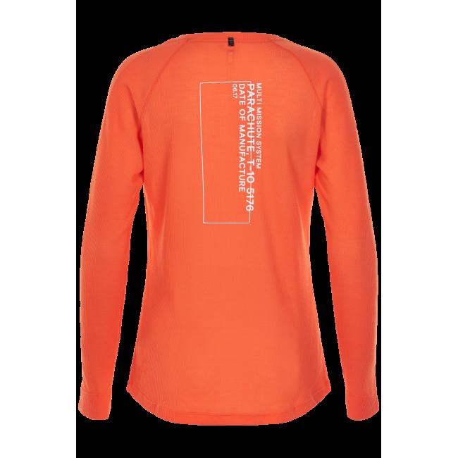 Löpartröja Newline Black shirt - Soft Orange - Dam