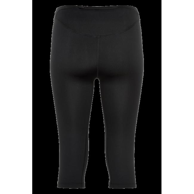 Träningsshorts Newline Black Knee Tights - Black - Dam