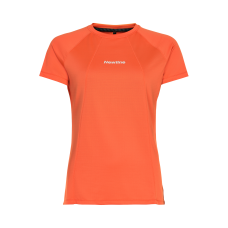 T-shirt Newline Black Tech Tee - Soft Orange - Dam