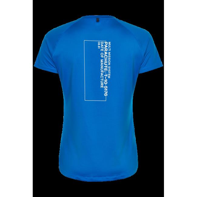 T-shirt Newline Black Tech Tee - Blue - Dam