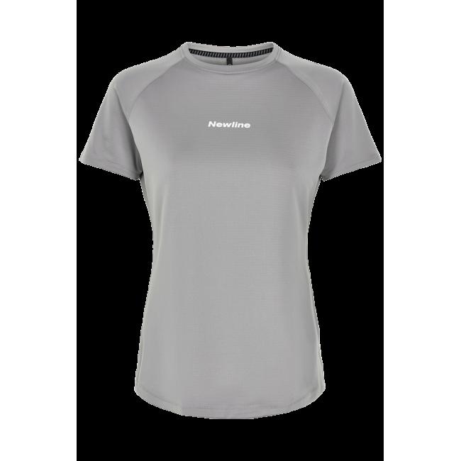 T-shirt Newline Black Tech Tee - Wet Grey - Dam