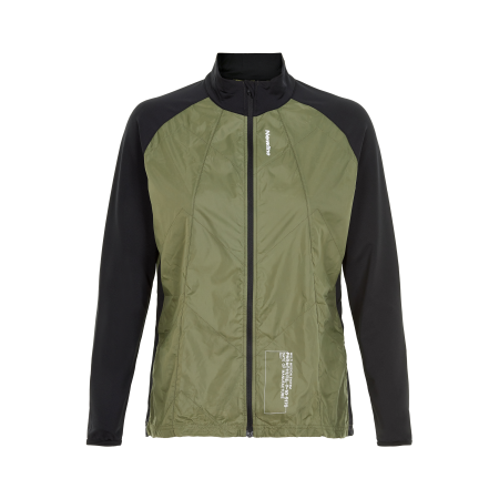 Löparjacka Newline Black Windbreaker Shirt - Para Green - Dam