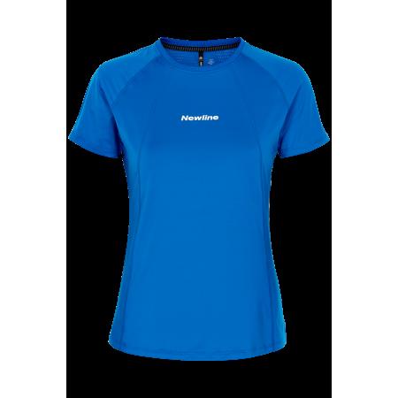 T-Shirt Newline Black Tee - Blue - Dam