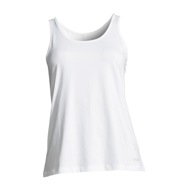 Casall Essential relaxed tank - White