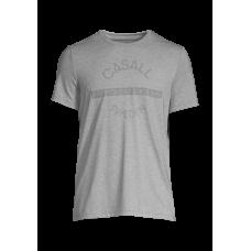 Casall M Comfort Tee - Grey melange