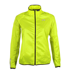 Vindjacka Newline Windpack Jacket - Neon Yellow Storlek XS