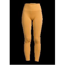 Casall Seamless Chevron Tights - Golden Yellow