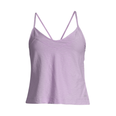 Casall Glam Texture Strap Tank - Flexible Purple