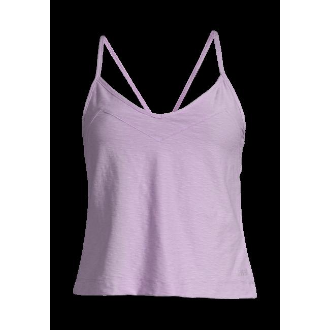 Casall Glam Texture Strap Tank - Flexible Purple