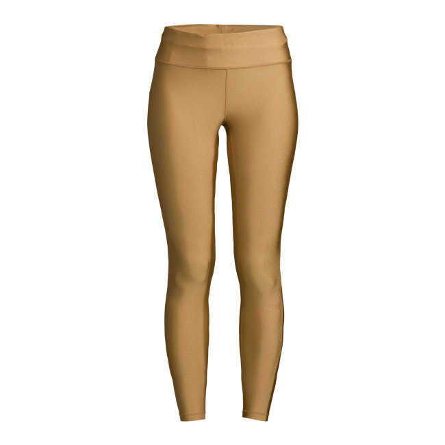 Casall Golden 7/8 Tights - Golden Metallic