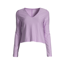Casall Glam Texture Long Sleeve - Flexible Purple