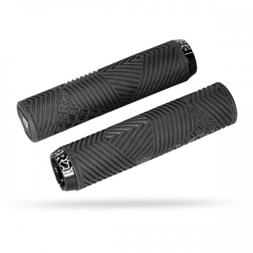 Cykelhandtag Pro Dual Lock Sport Svart 32mm/132,5mm
