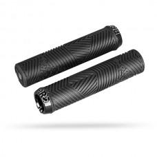 Cykelhandtag Pro Dual Lock Sport Svart 30mm/132,5mm