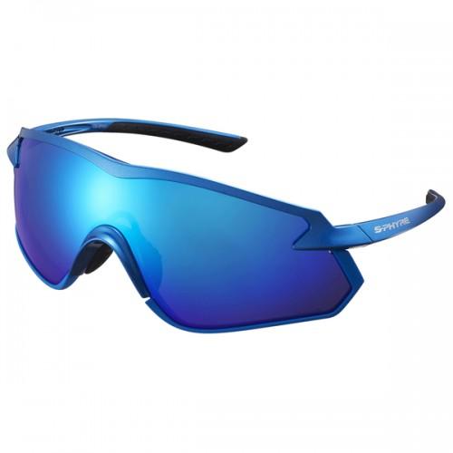 Cykelglasögon Shimano S-Phyre X polariserad blå