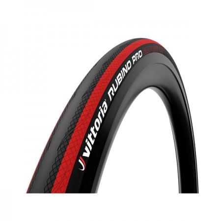 Cykeldäck Racer Vittoria Rubino Pro röd 25-622/700x25c Fold G2