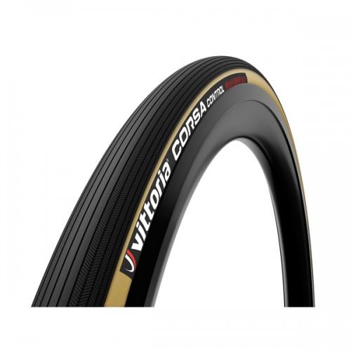 Cykeldäck Racer Vittoria Corsa Control brun/svart 25-622/700x25c