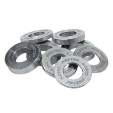 Minivikt set för Internationell Skivstång 50 mm 0.25-1 kg