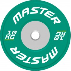 Viktskiva Competition Bumpers Plate 10 kg - Master