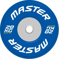Viktskiva Competition Bumpers Plate 20 kg - Master
