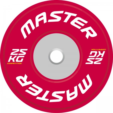 Viktskiva Competition Bumpers Plate 25 kg - Master