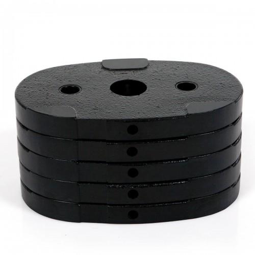 Extra vikter till Inspire by Hammer M1 / M2 Multigym 5x4,5kg