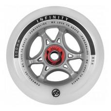 Inlineshjul Powerslide Infinity 100 mm RTR Inkl. Abec 9 lager